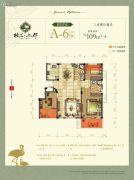 格兰上郡3室2厅2卫109平方米户型图