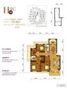 南岸花园东区4室2厅2卫0平方米户型图
