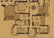 尚海阳光4室3厅3卫326平方米户型图