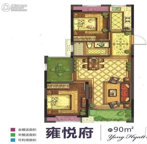 > 瑞和家园户型图