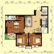 翌琦新印象3室2厅2卫114平方米户型图