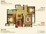 明月湾3室2厅1卫89--95平方米户型图