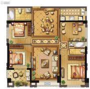 长乐阳光城翡丽湾4室2厅2卫119平方米户型图