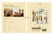 水岸明珠・新都3室2厅1卫104--105平方米户型图