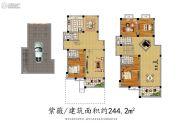 香树湾花园0室0厅0卫244平方米户型图