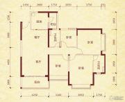 成都恒大金碧天下4室2厅2卫132平方米户型图