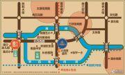 汇锦华府商铺交通图