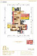 同森锦熙4室2厅2卫0平方米户型图