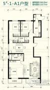 强佑・府学上院3室1厅2卫0平方米户型图