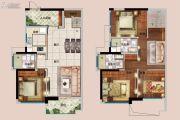 佳兆业城市广场4室2厅3卫125平方米户型图
