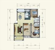 中亚东方名都3室2厅2卫0平方米户型图
