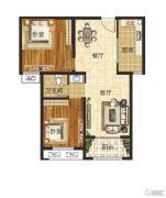 泰成悦府2室2厅1卫0平方米户型图
