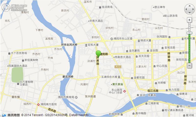 嘉盛家园地理位置图20150211