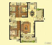 岳州帝苑3室2厅2卫128平方米户型图