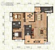 万佳一品・尚书茗苑3室2厅2卫116平方米户型图