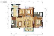 中港CCPARK3室2厅2卫99平方米户型图