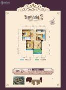 益通・枫情尚城3室2厅1卫100平方米户型图