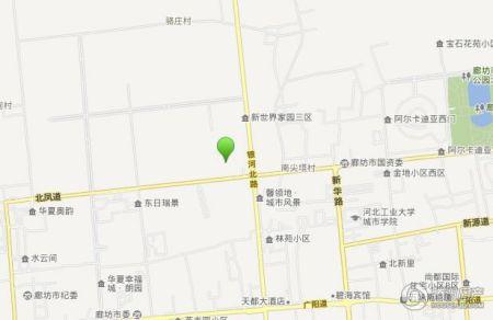 新世界号地第二社区地图