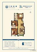 中远泷玺�_3室2厅1卫102平方米户型图
