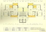 新澳城市花园3室2厅1卫90--120平方米户型图