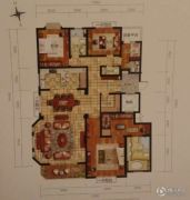 御岛财富公馆4室2厅2卫0平方米户型图