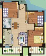 和华・尚悦公馆3室1厅2卫89平方米户型图