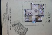 高地・爱莲堡花园3室2厅2卫138平方米户型图