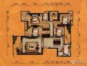 红树湾5室2厅2卫189平方米户型图