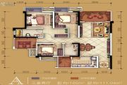 新鸥鹏教育城3室2厅2卫0平方米户型图