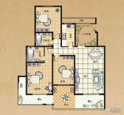 东方今典3室2厅2卫136平方米户型图