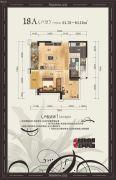 美泉16121室1厅1卫61--64平方米户型图