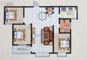 华业玉苑3室2厅1卫0平方米户型图