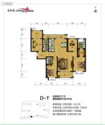 勒泰家园4室2厅3卫0平方米户型图