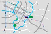 成都ICC凯旋门交通图