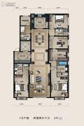 中信・国安府4室2厅2卫279平方米户型图