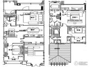 万科双月湾3室2厅3卫225平方米户型图