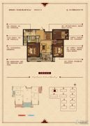 华锦锦园3室2厅1卫102--107平方米户型图