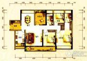佳兆业东江豪门3室2厅2卫0平方米户型图