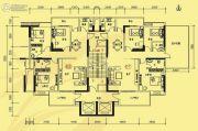 中兴紫麟城3室2厅3卫142--162平方米户型图