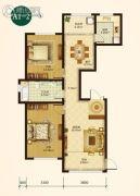 辰能溪树庭院(南区)2室2厅1卫0平方米户型图