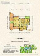 大江观邸0室0厅0卫167平方米户型图