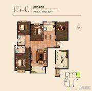 国瑞瑞城3室2厅2卫127平方米户型图