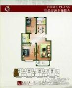 运通・家天下2室2厅1卫0平方米户型图