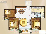 玉林碧桂园3室2厅2卫103平方米户型图