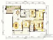 紫园4室2厅2卫153平方米户型图