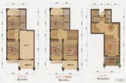 大港御景新城2室2厅2卫110平方米户型图