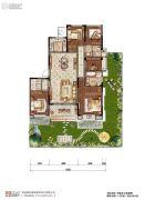 中粮祥云国际5室2厅2卫156平方米户型图