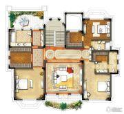 钱湖御景湾5室2厅5卫223平方米户型图