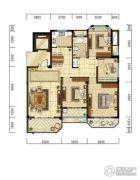 光明・褐石公元4室2厅1卫120平方米户型图
