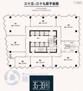 佳田新天地93--301平方米户型图